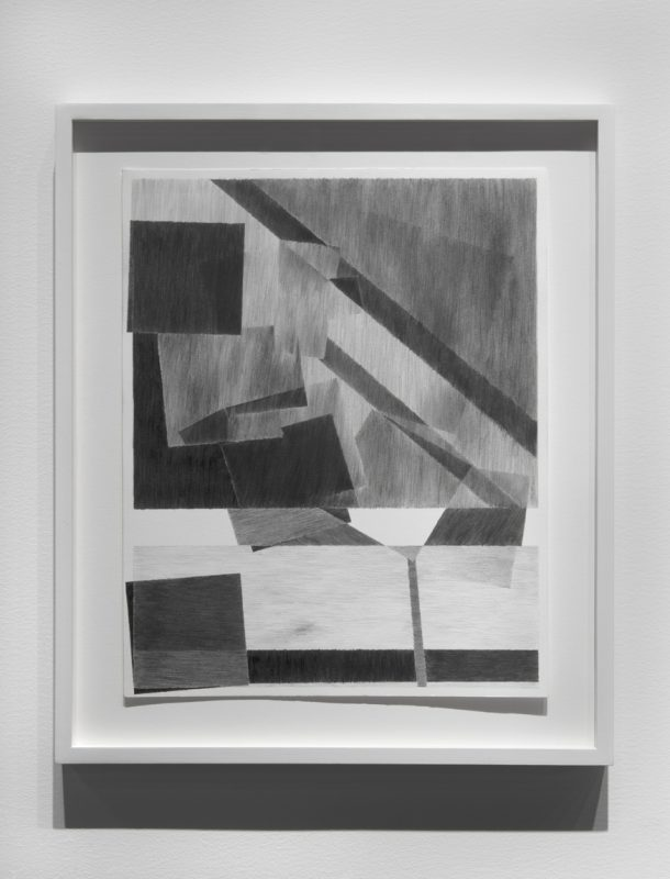 A drawing from Japan (two imperfect parallel lines in a foreign space), 2013