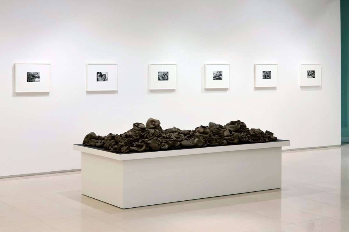 Installation view of That, There, It at The Gardiner Museum, Toronto
