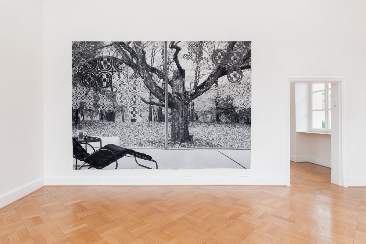 Installation view of Shannon Bool at Kunstverein Braunschweig, 2019