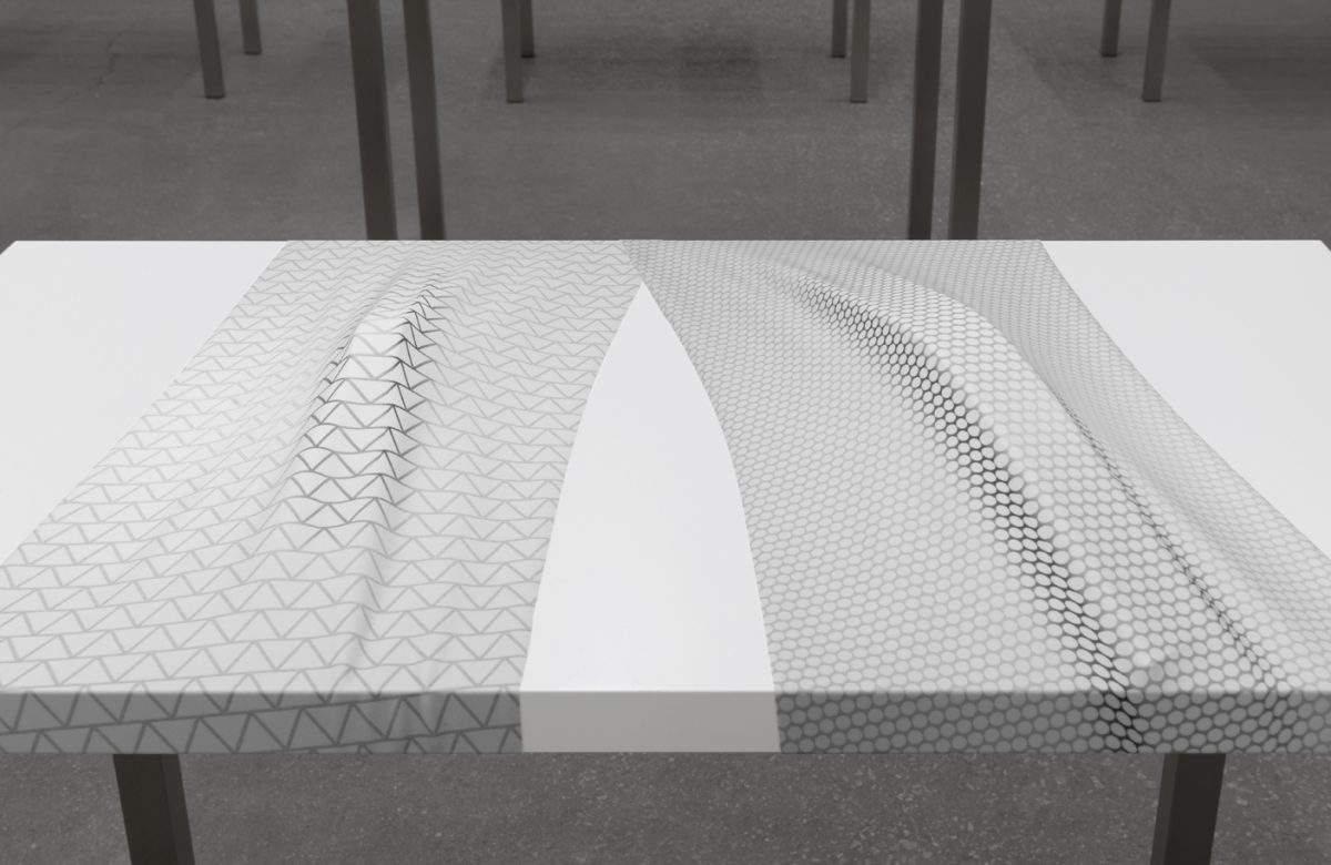 Patterned Recognition (Perforated Metal), 2014