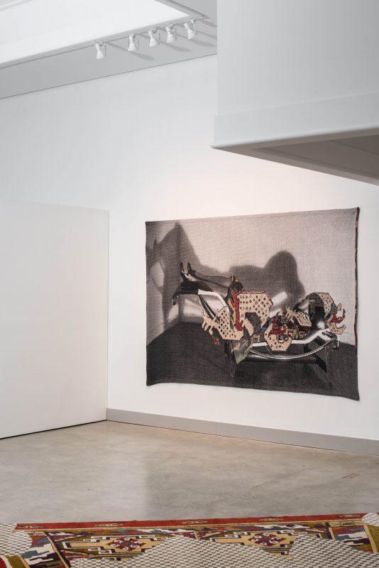 Installation of Shannon Bool at Nanaimo Art Gallery, 2016