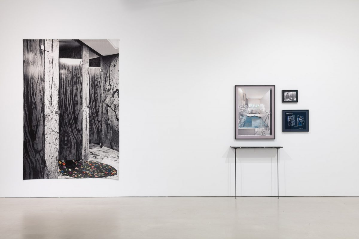Installation view of Shannon Bool at Musée d'art de Joliette, 2018