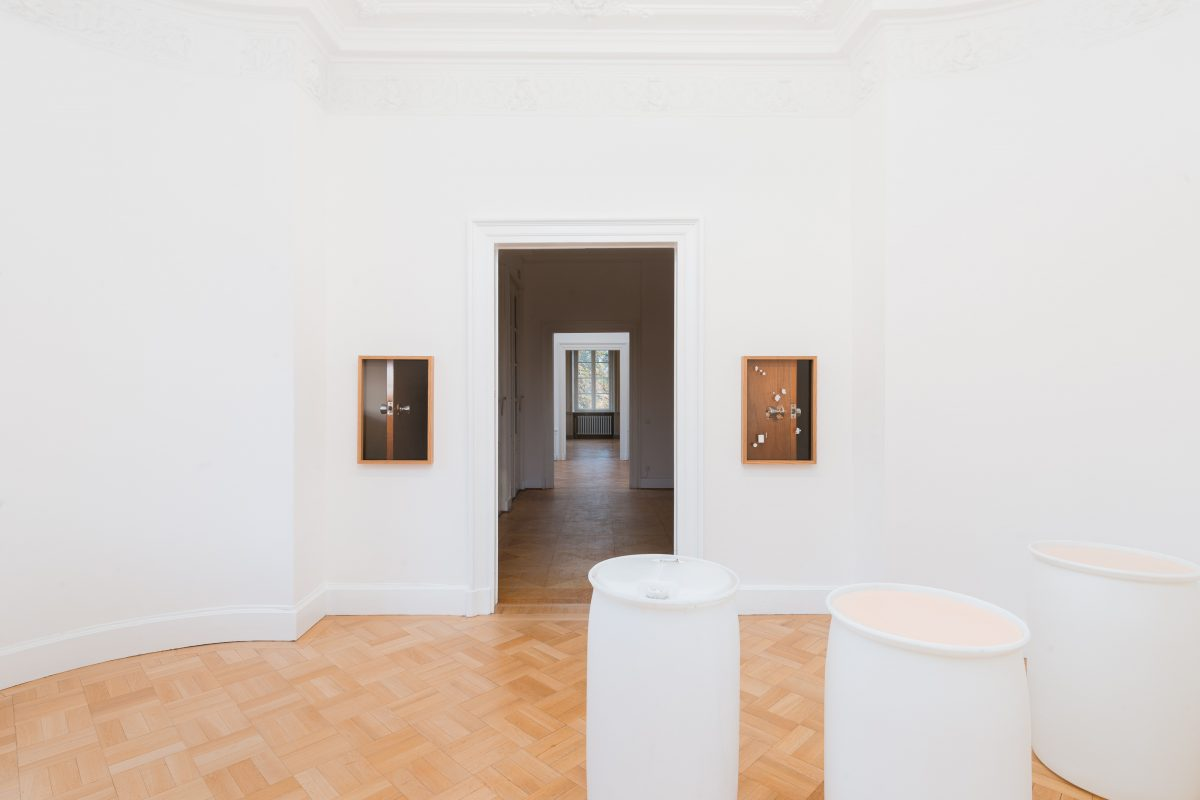 Installation view of Nadia Belerique at Kunstverein Braunschweig, 2020