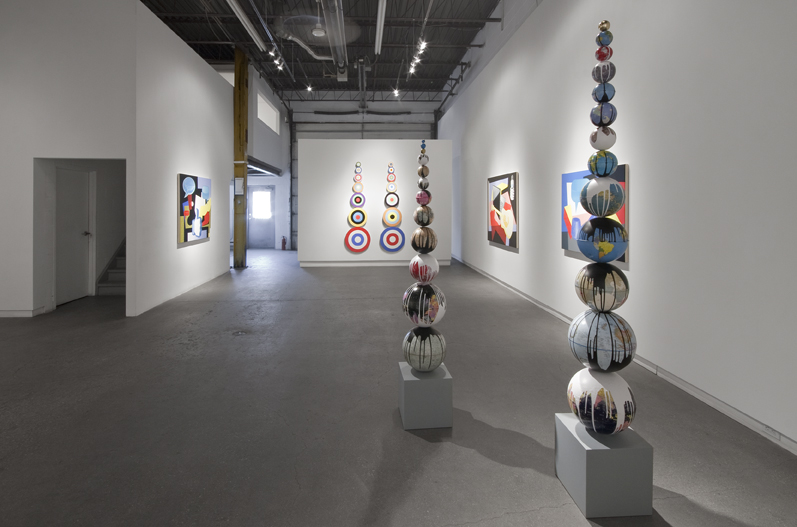 "Installation view of ""The 21st Century Continues… Part I"" at Daniel Faria Gallery, 2013"