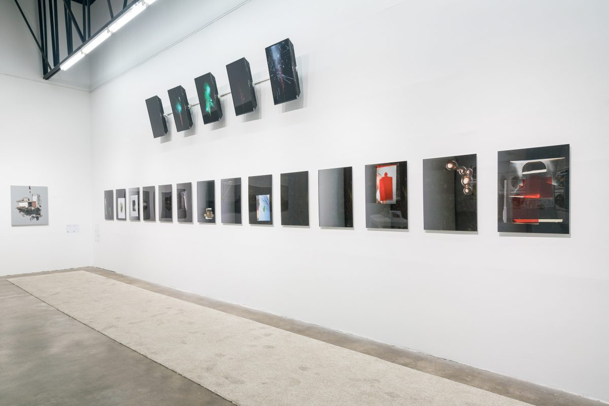 Installation view of Nadia Belerique at the 2016 Gwangju Biennale.