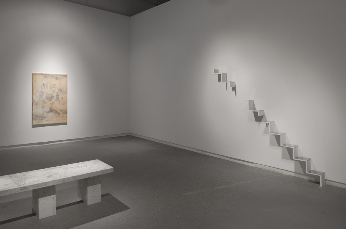 Installation view of Shannon Bool at Daniel Faria Gallery, 2013