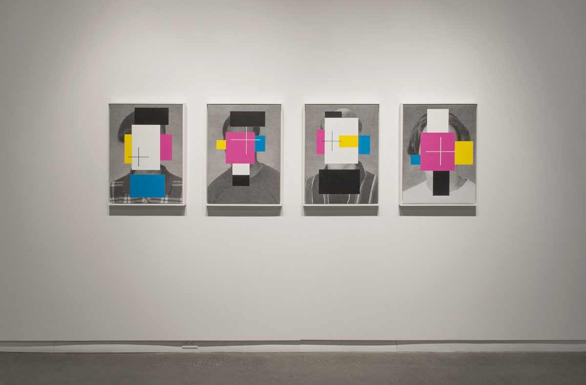 "Installation view of ""Our Modern World"" at Daniel Faria Gallery, 2015"