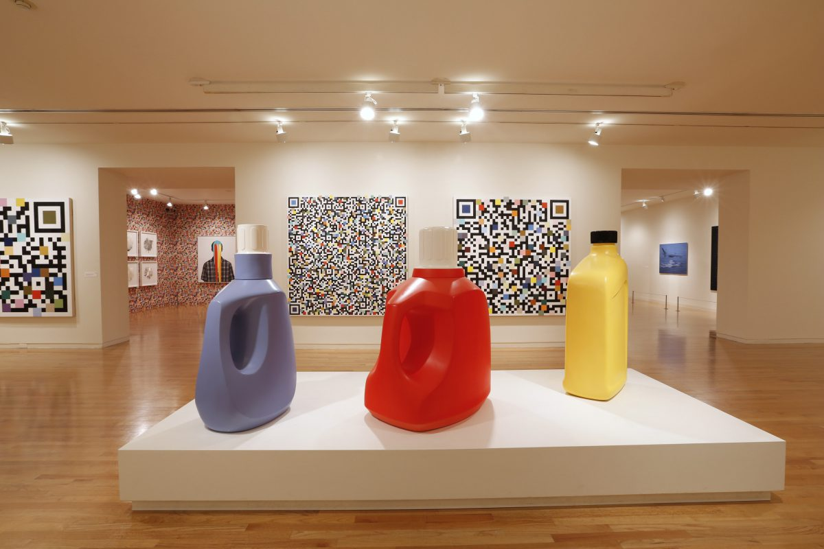 Installation view of Douglas Coupland at the Vancouver Art Gallery, 2014