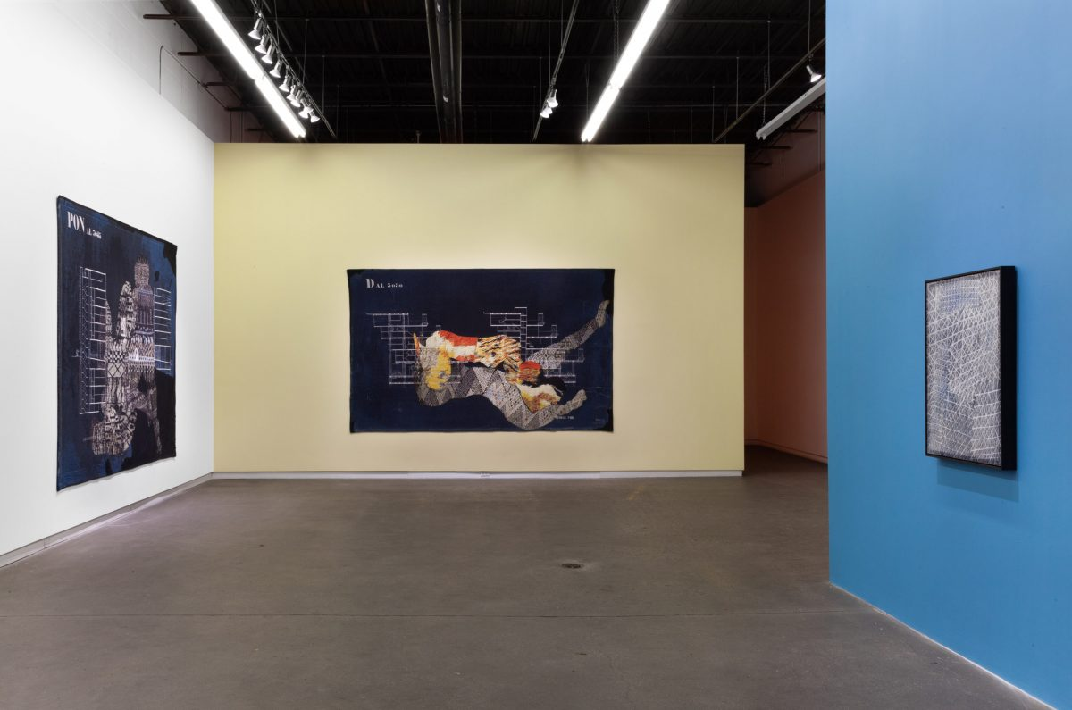 Installation view of Shannon Bool at Daniel Faria Gallery, 2018