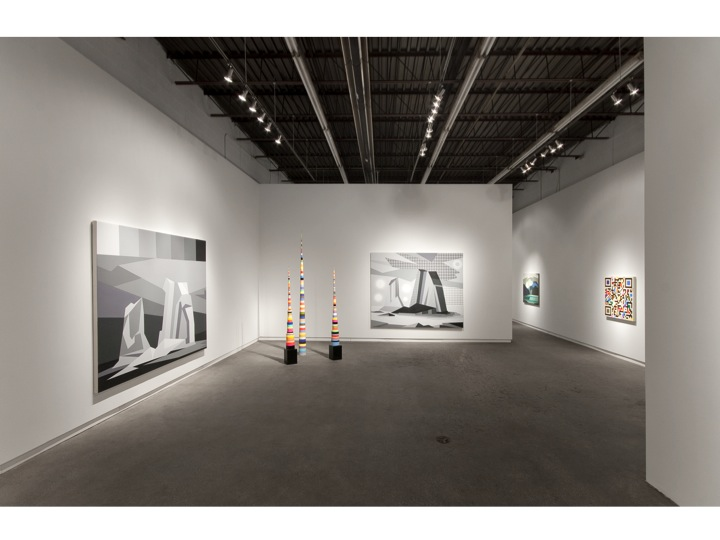 "Installation view of ""Welcome to the 21st century"" at Daniel Faria Gallery, 2012"