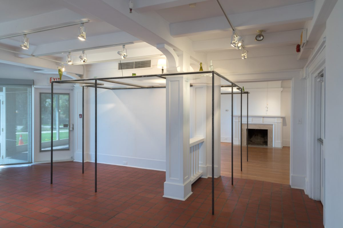 "Installation view of ""The Lake Room"" at Oakville Galleries, 2018"