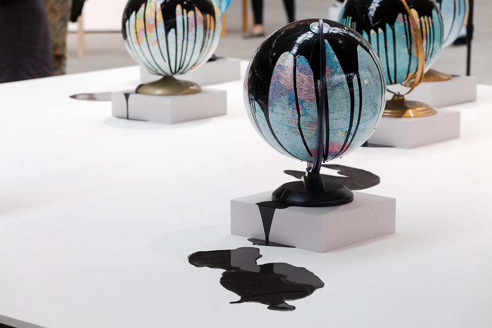 Installation of Douglas Coupland at Art Berlin Contemporary, 2014