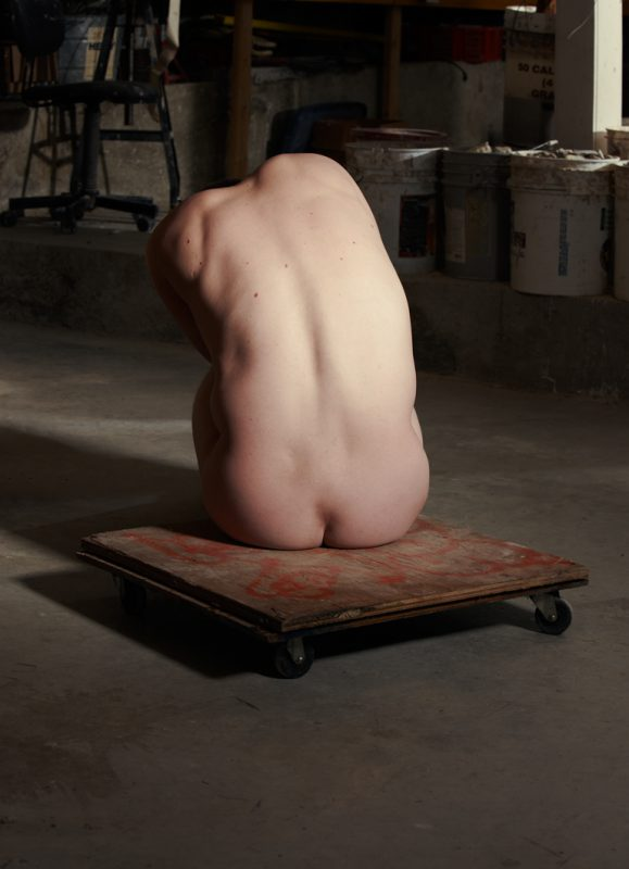 Model in the Sculptor's Studio, 2010