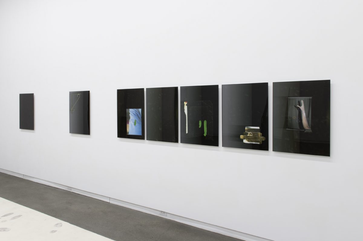 Installation view of Have You Seen This Man at Daniel Faria Gallery, 2014