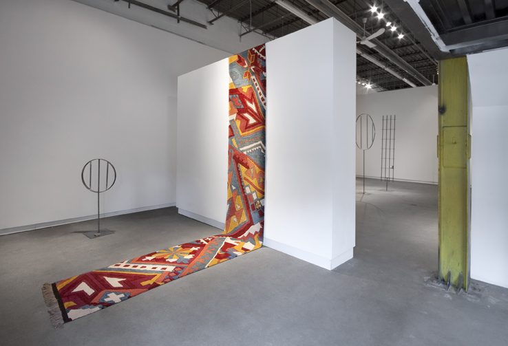 Installation view of Shannon Bool at Daniel Faria Gallery, 2012