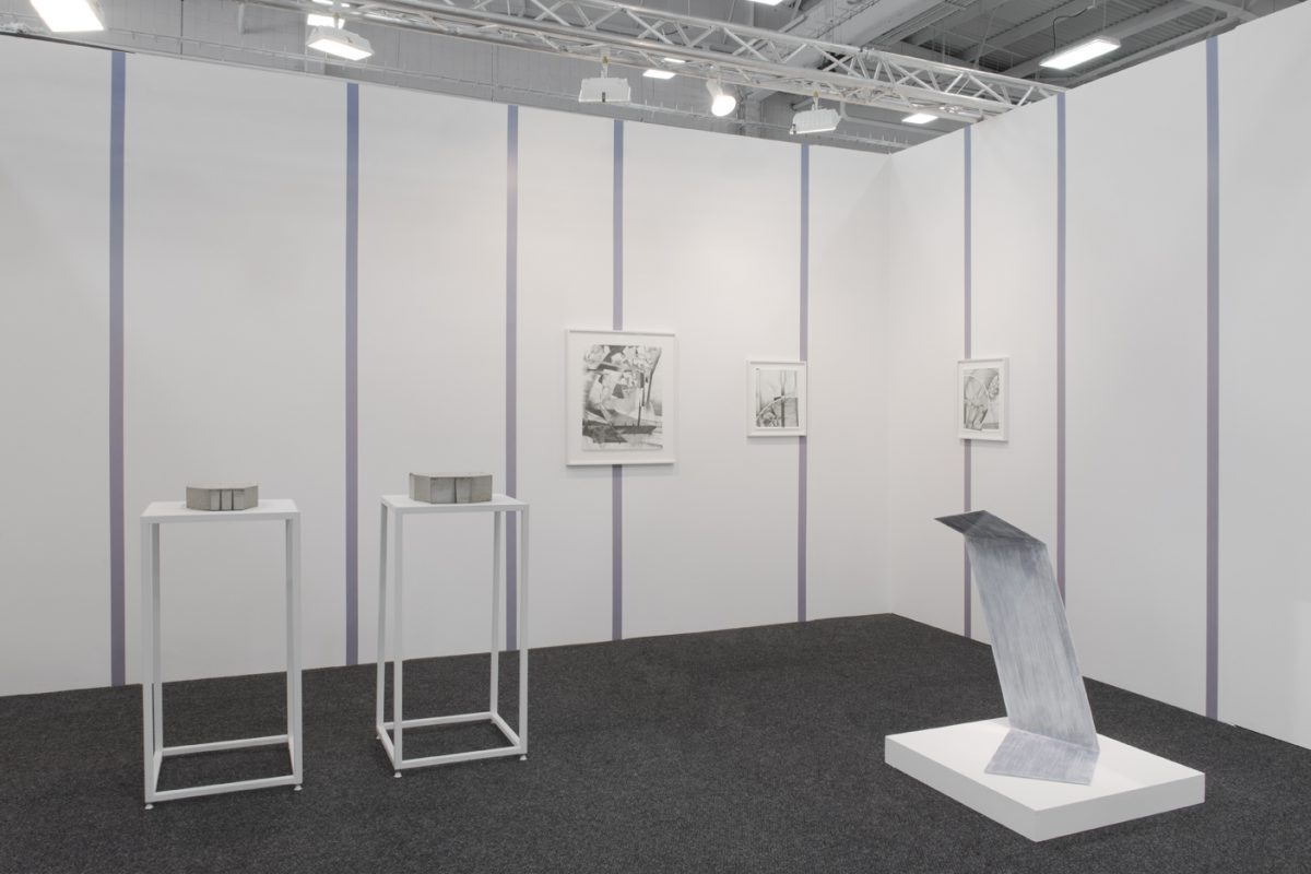 Installation view of Daniel Faria Gallery at NADA New York