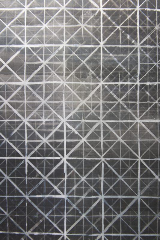 Grey Grid, 2017 (detail)