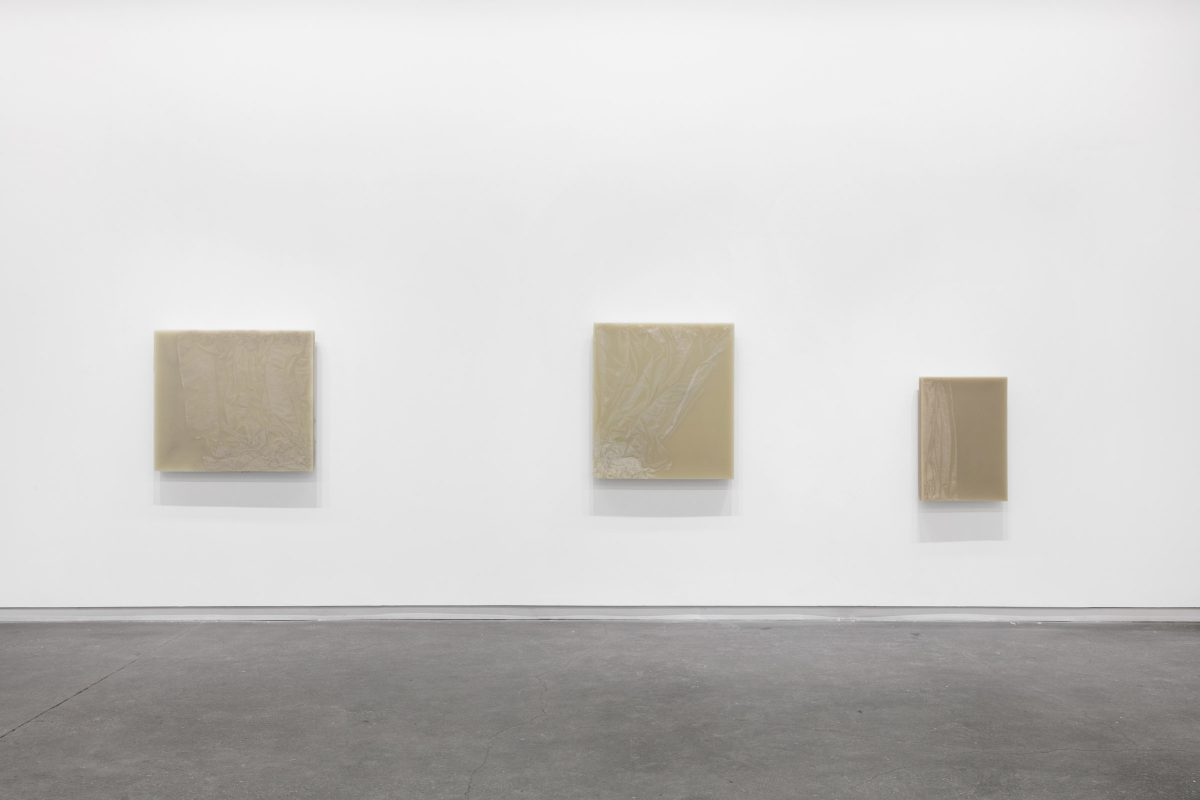 Installation view of Iris Häussler at Daniel Faria Gallery, 2019