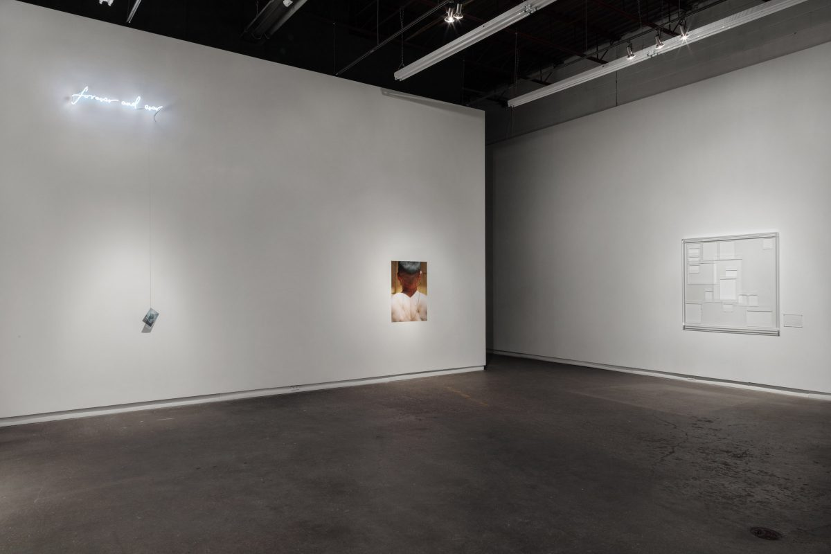 (  ), Installation view at Daniel Faria Gallery, 2019