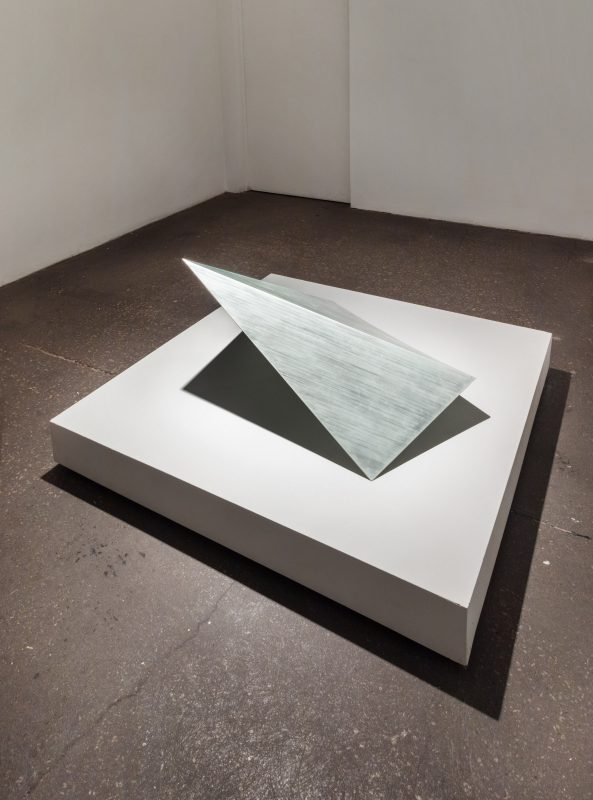 Jennifer Rose Sciarrino, Folded Facet 2 (Bronze), 2012