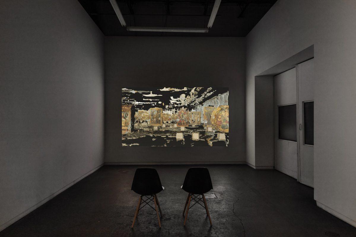 Mark Lewis, Museum, 2018, 10 minutes, 59 seconds, 4k