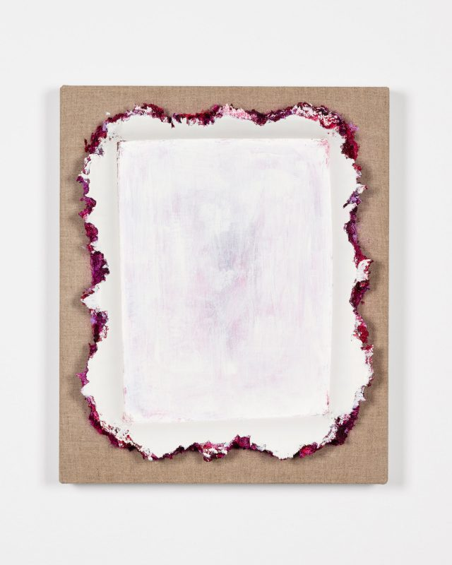 Magenta White Restretch, 2019