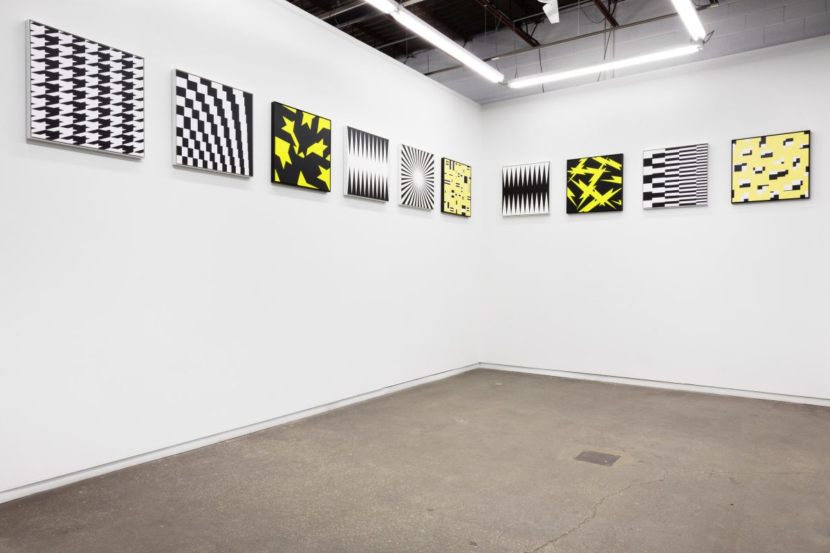 "Installation view of Douglas Coupland ""Fordite: Neominerology in the Anthropocene"" at Daniel Faria Gallery, 2020"